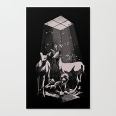 Deer Dad Canvas Print