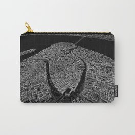 Venice in BW Carry-All Pouch