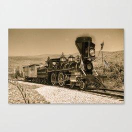 Virginia Truckee Railroad Canvas Print