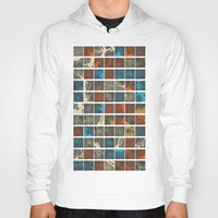 cities Hoodies featuring World Cities Maps by Map Map Maps