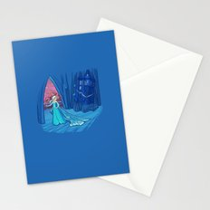 Frozen in Time and Space Stationery Cards