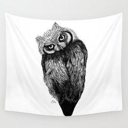 Scops Owl  Wall Tapestry