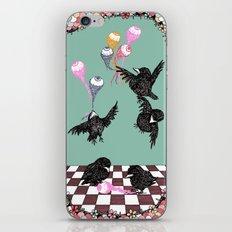 Crow Serie :: Eye Balloons (cria cuervos y te sacaran los ojos) iPhone & iPod Skin