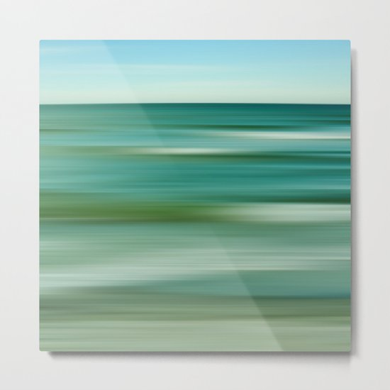 sea abstract Metal Print