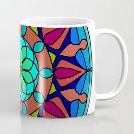 Hand-drawn colored mandala Coffee Mug