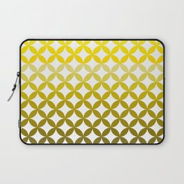 Abstract geometric pattern autumn colours Laptop Sleeve