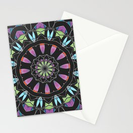 Mandala 13 with Blue Stationery Cards