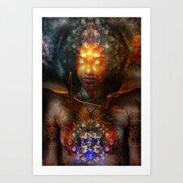 Eyes Of The Beholder Art Print