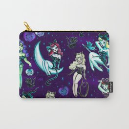 Witches and Black Cats Carry-All Pouch