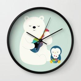 A Little Band Wall Clock