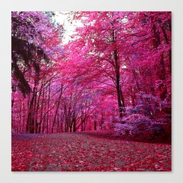 purple forest IV Canvas Print