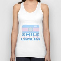 Smile For The Camera; Unisex Tank Top