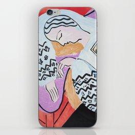 Henri Matisse - The Dream - 1940 Artwork iPhone Skin