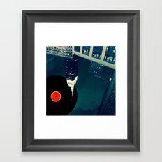 glazba Framed Art Print
