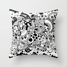 Cualquier cosa Throw Pillow