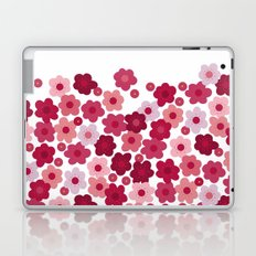 cherry blossom pop white Laptop & iPad Skin