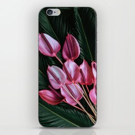 Anthurium and Sago Palm iPhone Skin