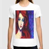 ariel T-shirts featuring Ariel by Amanda Lee