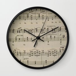 Waltz Wall Clock