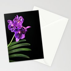Orchids mean Love; I love Orchids Stationery Cards
