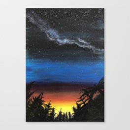 looking into the future Canvas Print