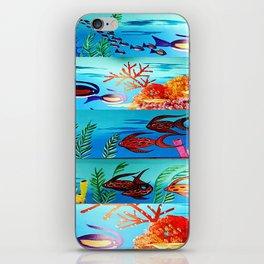 Beautiful Sea Life iPhone Skin