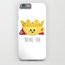 Royal-tea iPhone Case