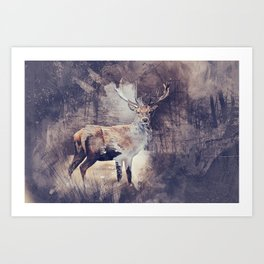 King of the Woods Art Print