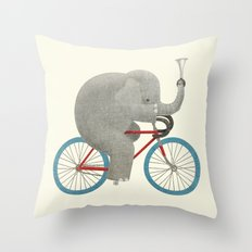 Ride (colour option) Throw Pillow