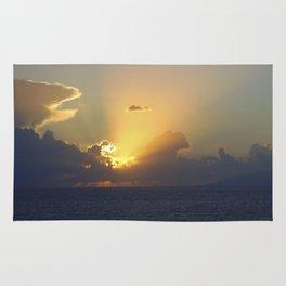 Sunset, Amalphi coast, Italy 2 Rug