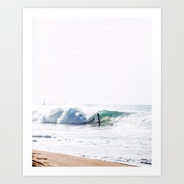 Surfrider Art Print