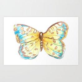 Nana's Butterlfy Art Print