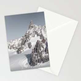 Mountain peaks - Mont Blanc serie 2 - Adventure landscape Stationery Cards