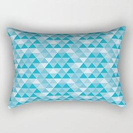 triangles 2 Rectangular Pillow