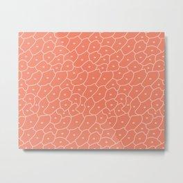 Frogspawn (Amber) Metal Print