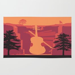 Music Mountains No. 4 Rug