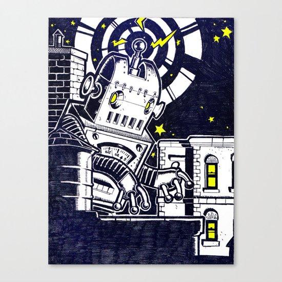 ROBO ATTACK! Canvas Print