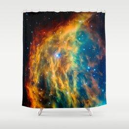Medusa Nebula Shower Curtain
