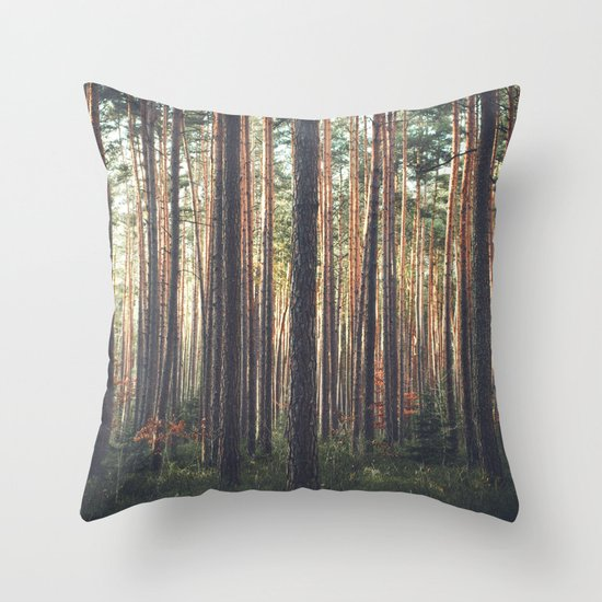 I LIVE HERE Throw Pillow