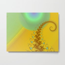 Sun Worship Metal Print