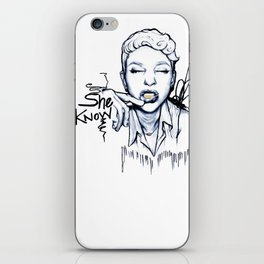#STUKGIRL Danielle iPhone Skin