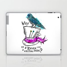 Why is a raven like a writing desk? Laptop & iPad Skin
