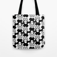 basquiat Tote Bags featuring Basquiat by CLSNYC