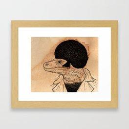 Komo'fo Dragon Framed Art Print