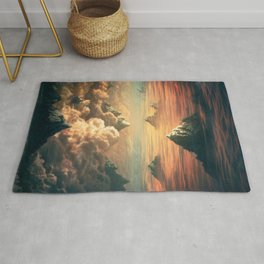 Worlds Collide - Glitch Series Rug