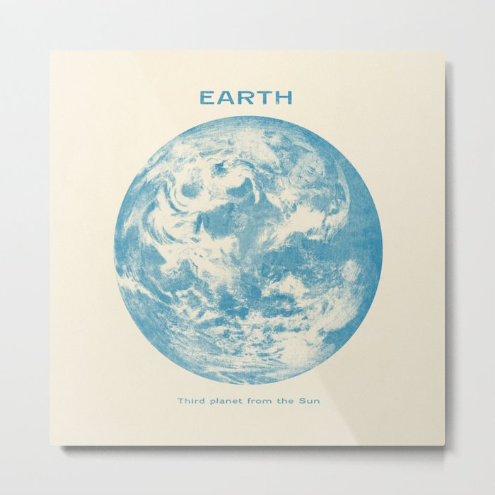 Third Planet  Metal Print