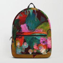 Toulouse Lautrec Marcelle Lender Dancing the Bolero Backpack