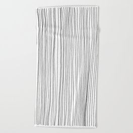 LINE - Poetry of the Pen Series by Cooper and Colleen Beach Towel