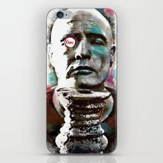 Marlon Brando under brushes effects iPhone & iPod Skin