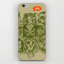 Wisdom to the Nines iPhone Skin